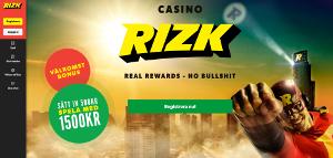 rizk netent bonus